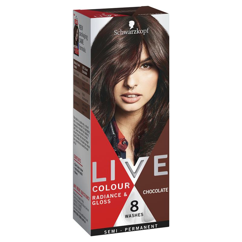 Schwarzkopf Live Colour Chocolate at Chemist Warehouse in Campbellfield, VIC | Tuggl