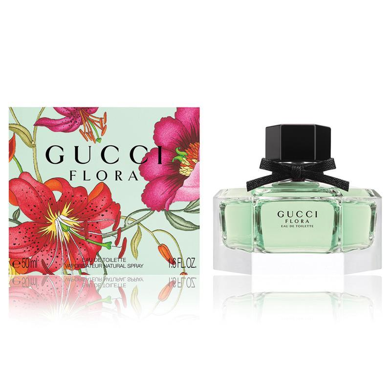 Buy flora by gucci eau de toilette 50ml spray online at for Arrivee d eau toilette