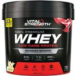 VitalStrength Launch Whey Protein 3kg Vanilla