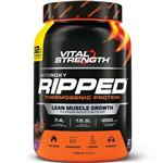 VitalStrength Hydroxy Ripped Workout Protein Powder 1Kg Chocolate