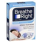 Breathe Right Clear Regular Nasal Congestion Strips 30