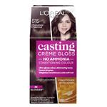 L'Oreal Paris Casting Creme Gloss Semi-Permanent Hair Colour - 515 Chocolate Chestnut (Ammonia free)