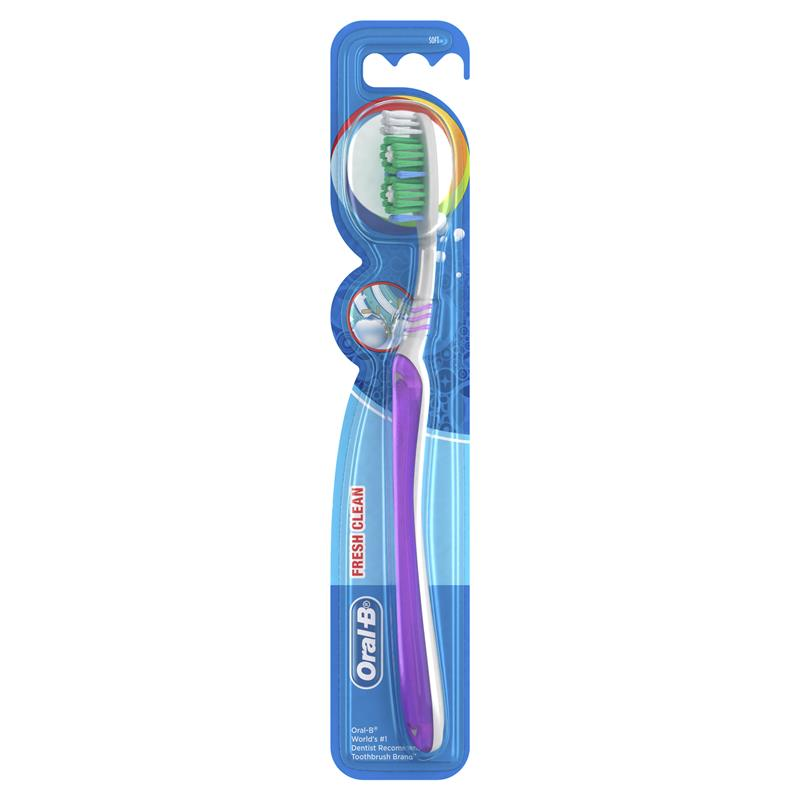 Oral-B All Rounder Fresh Clean Soft Manual Toothbrush 1 Pack | Tuggl
