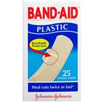 Band-Aid Plastic Strips 25