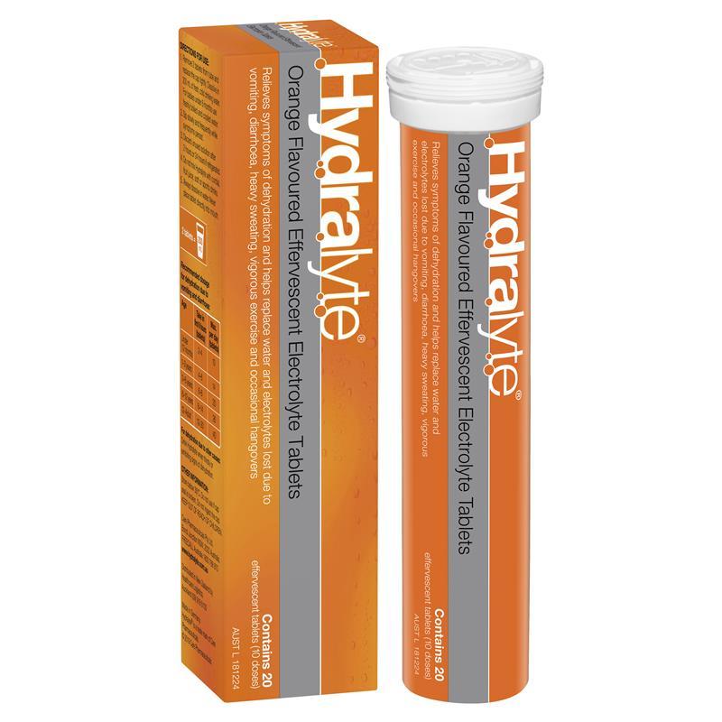 Hydralyte electrolyte effervescent