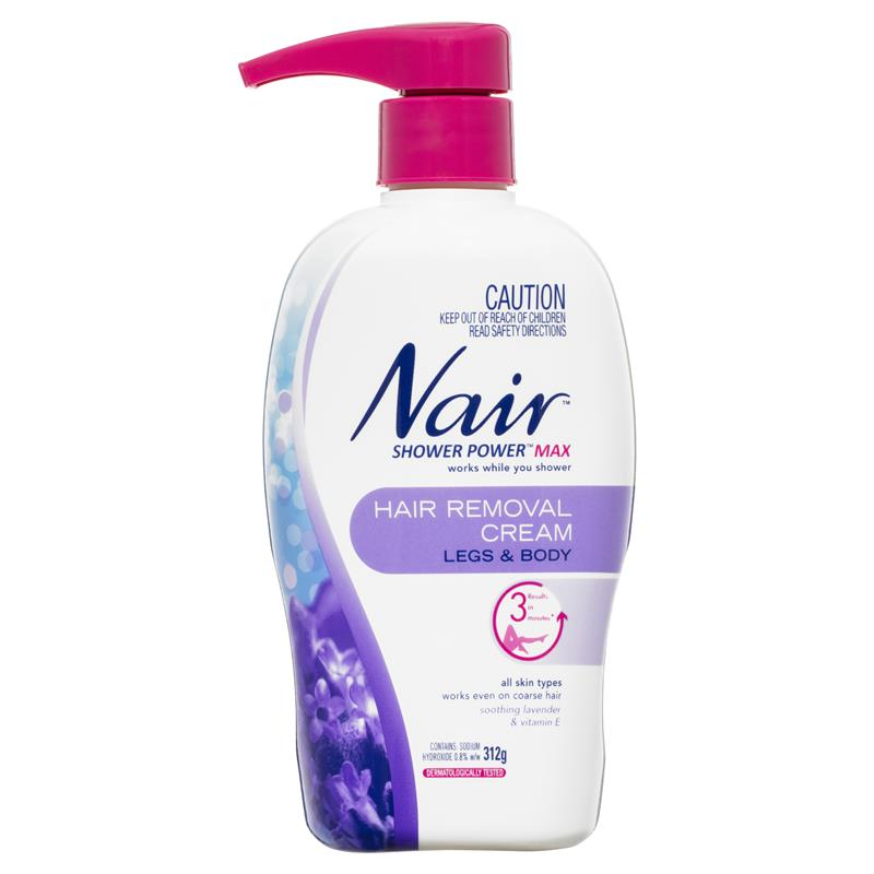 Buy Nair Shower Power Max 312g Online At Chemist Warehouse