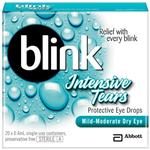 Blink Intensive Tears 0.4ml x 20 Vials