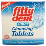 Fittydent Super Denture Cleaning 32 Tablets