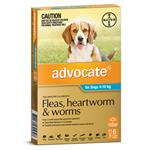 Advocate Dog Medium 4-10KG 6