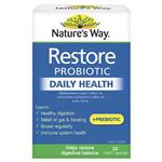 Nature's Way Restore Daily Probiotic 28 Capsules