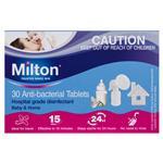Milton Antibacterial 30 Tablets