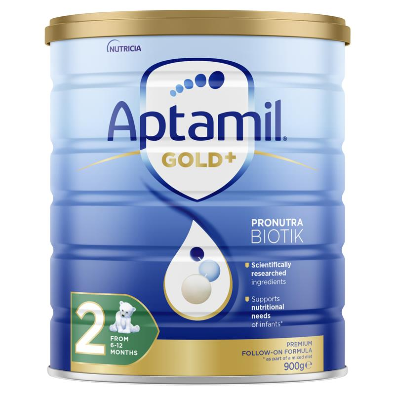 Aptamil Gold+ 2 Follow-On Formula 6-12 Months 900g at Chemist Warehouse in Campbellfield, VIC | Tuggl