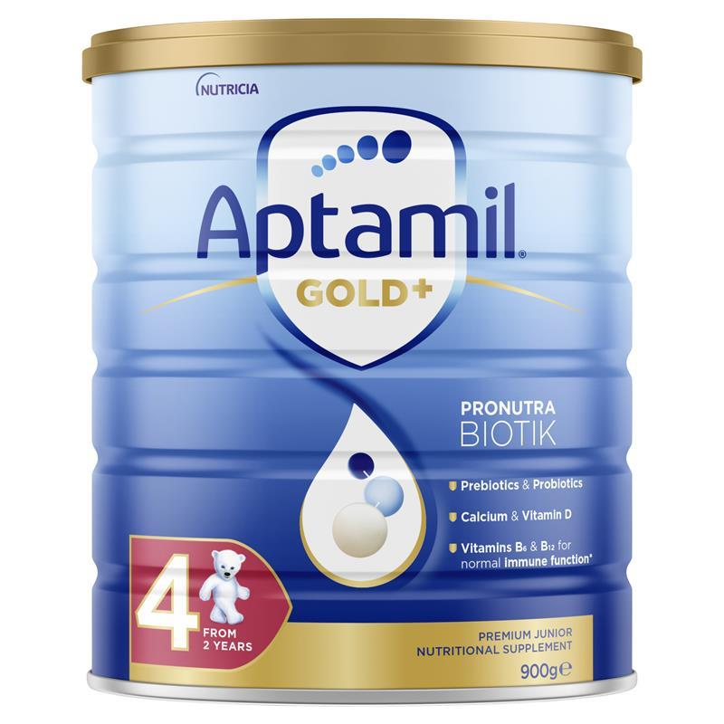 Aptamil Gold+ 4 Junior Nutritional Supplement From 2 years 900g at Chemist Warehouse in Campbellfield, VIC | Tuggl