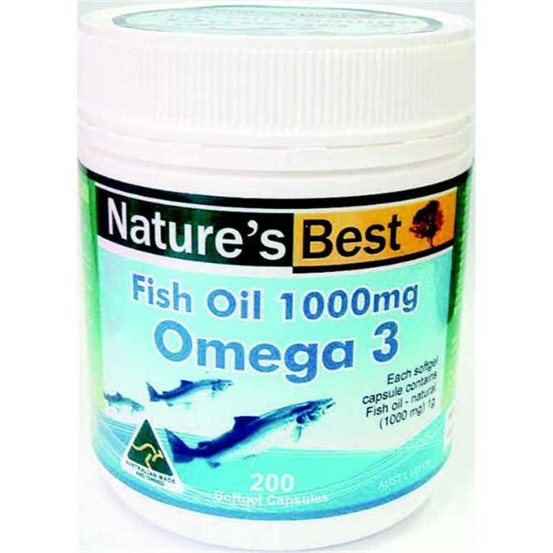 Buy Nature's Best Fish Oil 1000mg 200 Capsules Online at ...