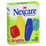 Nexcare Brights Strips Assorted 25 Pack