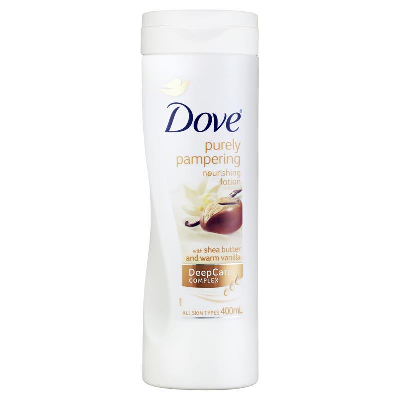 도브 바디 로션 에센셜 시어 버터 4..