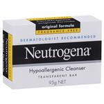 Neutrogena Cleansing Bar Hypo Allergenic