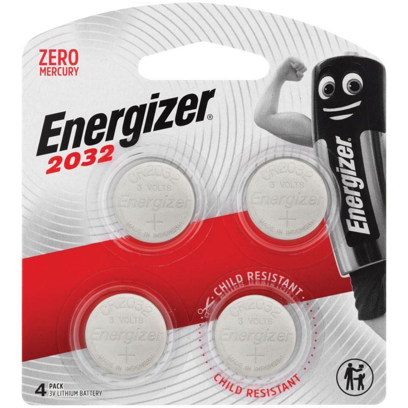 buy energizer cr2032 battery 4 pack online at chemist. Black Bedroom Furniture Sets. Home Design Ideas
