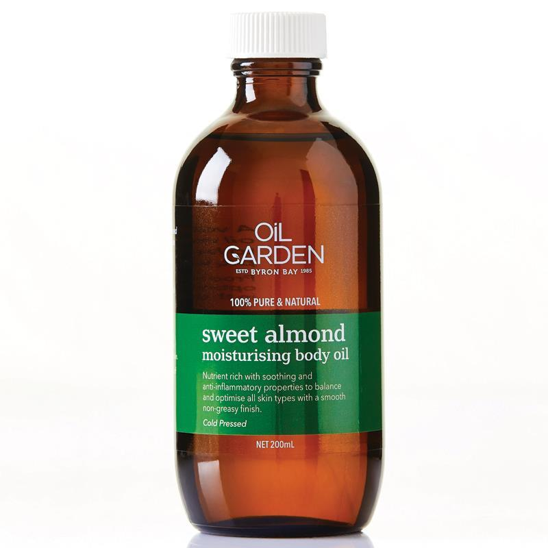 Buy Oil Garden Sweet Almond Oil 200ml Online at Chemist ...