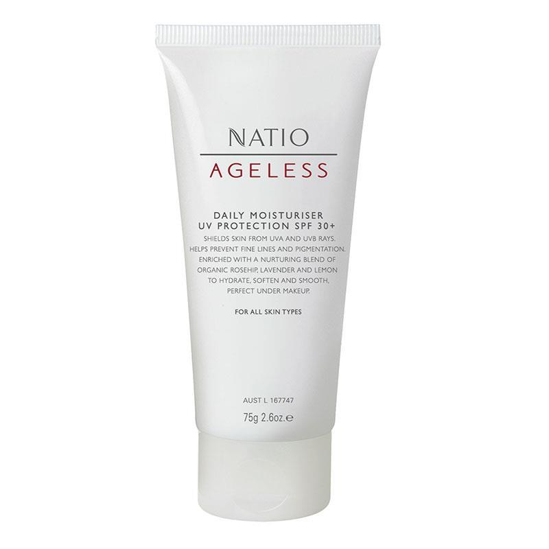 Natio Ageless Daily Moisture Protect SPF30 75g | Tuggl