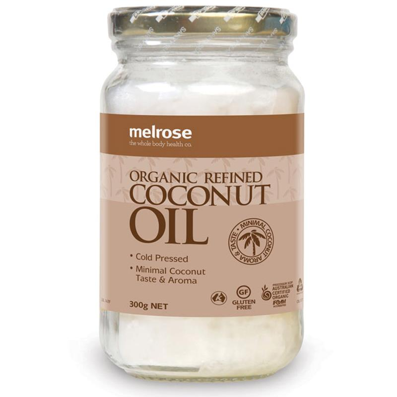 Buy Melrose Organic Refined Coconut Oil 300g Online at ...