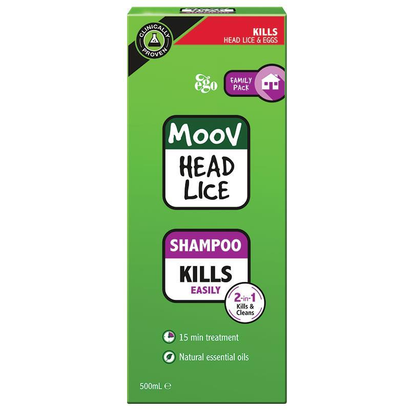 buy moov head lice shampoo 500ml  nits online at chemist warehouse u00ae