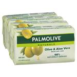 Palmolive Naturals Moisture Care Aloe & Olive Extracts Bar Soap 4 x 90g