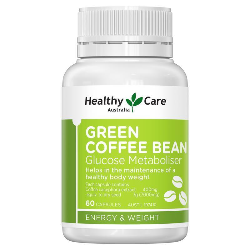 Buy Healthy Care Green Coffee Bean 60 Capsules Online At Chemist