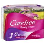 Carefree Barely There Liners Shower Fresh Scent 42 Pack