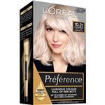 L'Oreal Paris Preference Permanent Hair Colour - 10.21 Alaska (Intense, fade-defying colour)