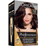 L'Oreal Paris Preference Permanent Hair Colour - 4.15 Rome (Intense, fade-defying colour)