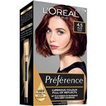 L'Oreal Paris Preference Permanent Hair Colour - 4.4 Riviera (Intense, fade-defying colour)