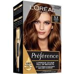 L'Oreal Paris Preference Permanent Hair Colour - 5.3 Siena (Intense, fade-defying colour)