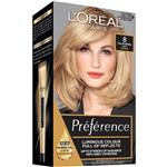 L'Oreal Paris Preference Permanent Hair Colour - 8 California (Intense, Fade-defying colour)