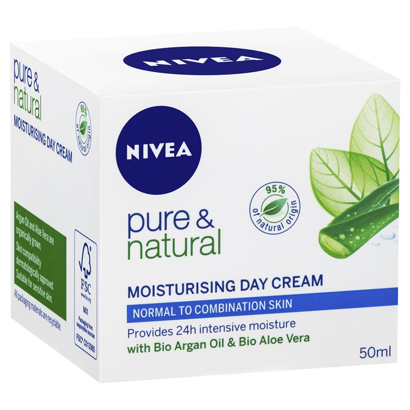 Nivea Visage S Pure Natural Moisturising Day Cream