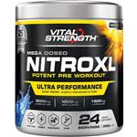 VitalStrength 16:00 Nitroxl Afternoon Pre-Workout Arctic Blue 360g