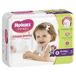 Huggies Nappy Pants 31 Toddler Girl