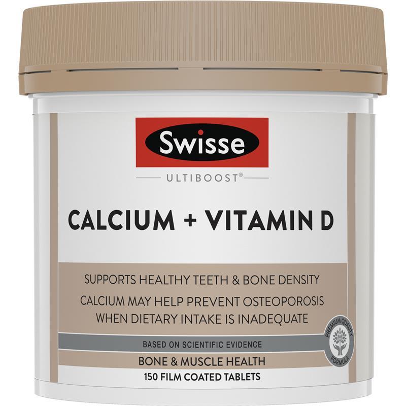 스위스 얼티부스터 칼슘 + 비타민d ..