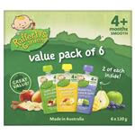 Raffertys Garden 4+ Months Multi Value 6 Pack
