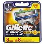 Gillette Fusion ProGlide Power Shaving Blade Refill 8 Pack