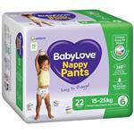 BabyLove Nappy Pants Junior 22