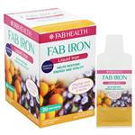 FAB IRON Liquid Iron 20 x 10mL Sachets
