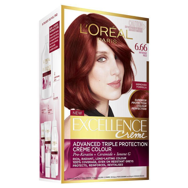 Buy Loreal Excellence Creme 666 Intense Red Online At Chemist