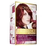 L'Oreal Paris Excellence Permanent Hair Colour - 6.66 Intense Red (100% Grey Coverage)