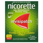 Nicorette Quit Smoking 16hr Invisipatch 15mg 7 Patches