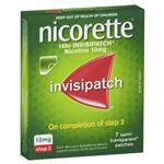 Nicorette Quit Smoking 16hr Invisipatch 10mg 7 Patches