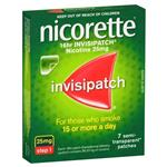 Nicorette Invisipatch 25mg 7 Pack