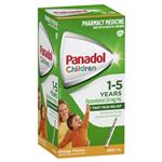 Panadol Children's 1-5 Years Orange 200ml
