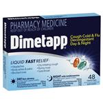 Dimetapp Day & Night PE Cough 48 Liquid Capsules