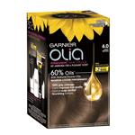Garnier Olia Permanent Hair Colour - 6.0 Light Brown (Ammonia Free, Oil Based)